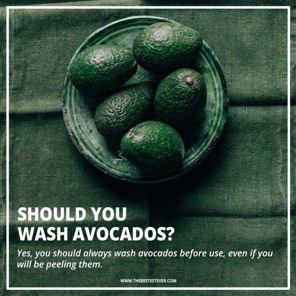 Should You Wash Avocados?