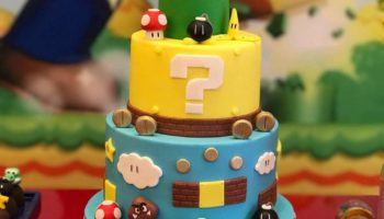 15 Cute Super Mario Birthday Cake Ideas