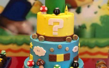 15 Cute Super Mario Birthday Cake Ideas