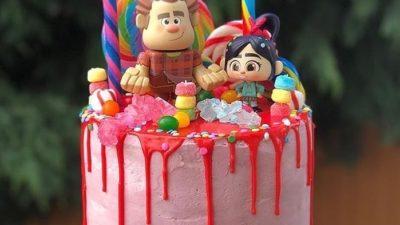 Wreck It Ralph Cake Ideas