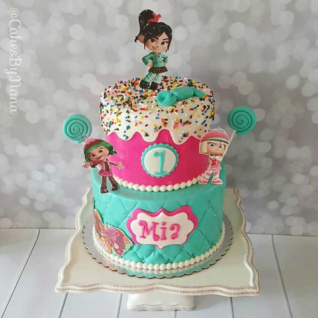 Sugar Rush Birthday Cake