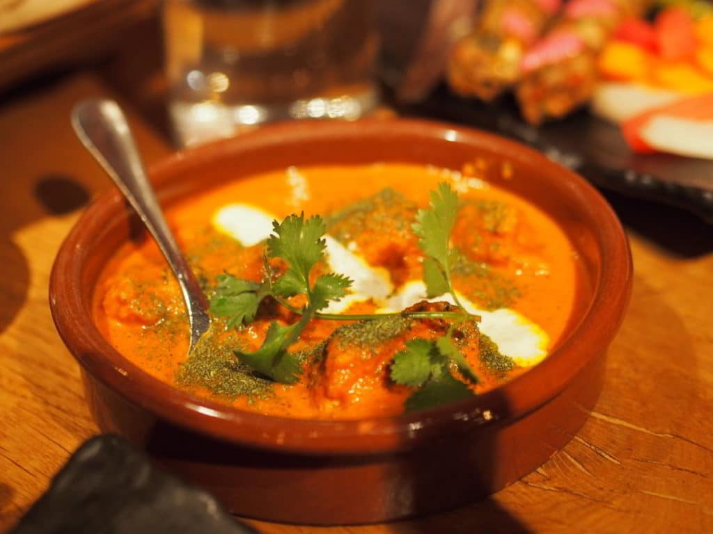 Butter Chicken in a Bowl