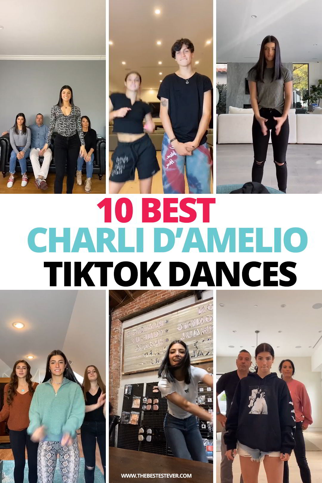 10 Best Charli D'Amelio TikTok Dance Videos of All Time