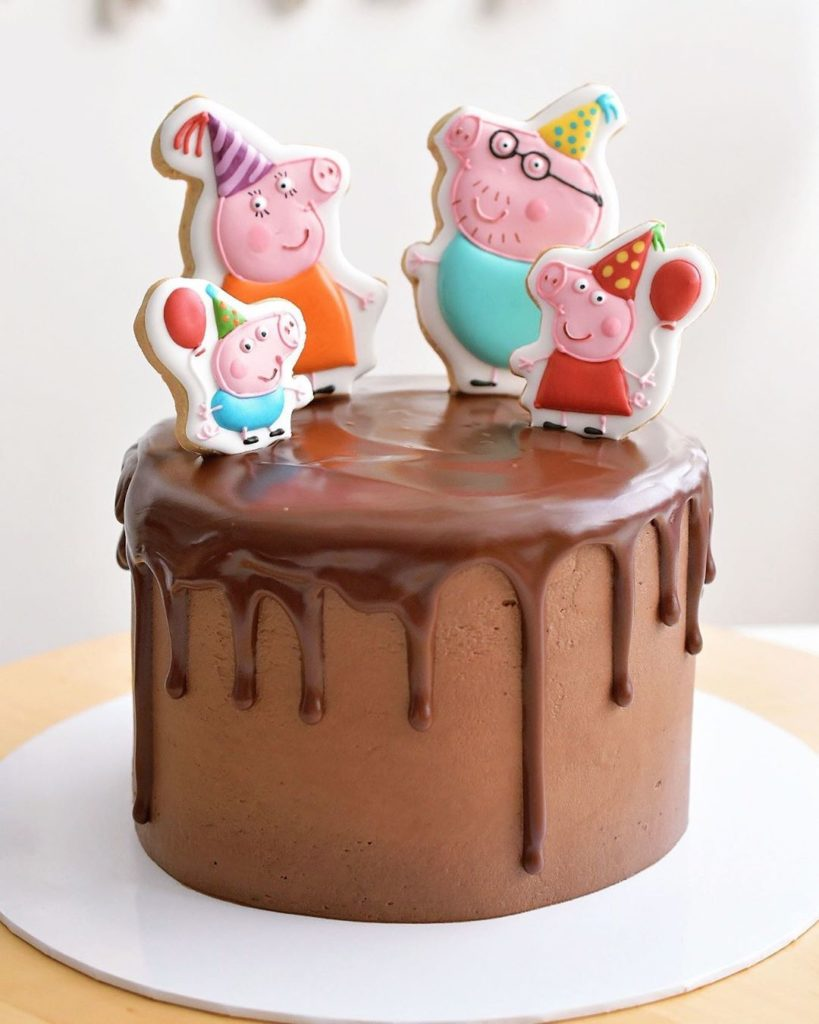 Cute Pepa Pig Cake Ideas
