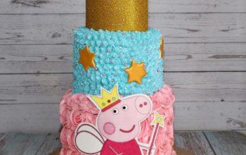 15 Beautiful Peppa Pig Cake Ideas & Designs