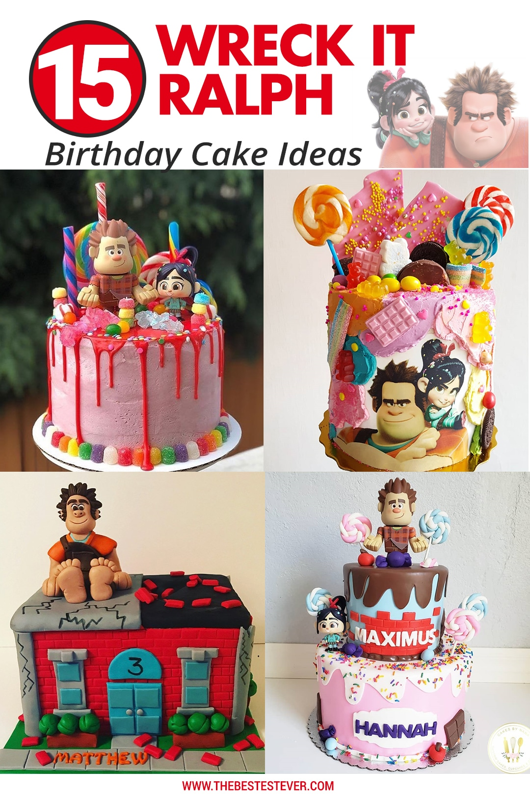 Wreck It Ralph Cake Ideas: 15 Amazing Designs