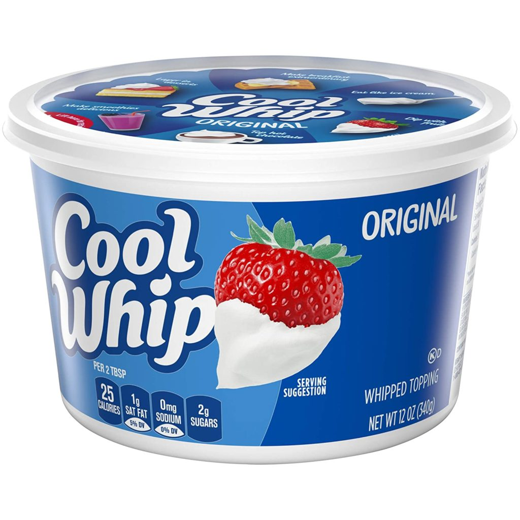 Tub of Cool Whip