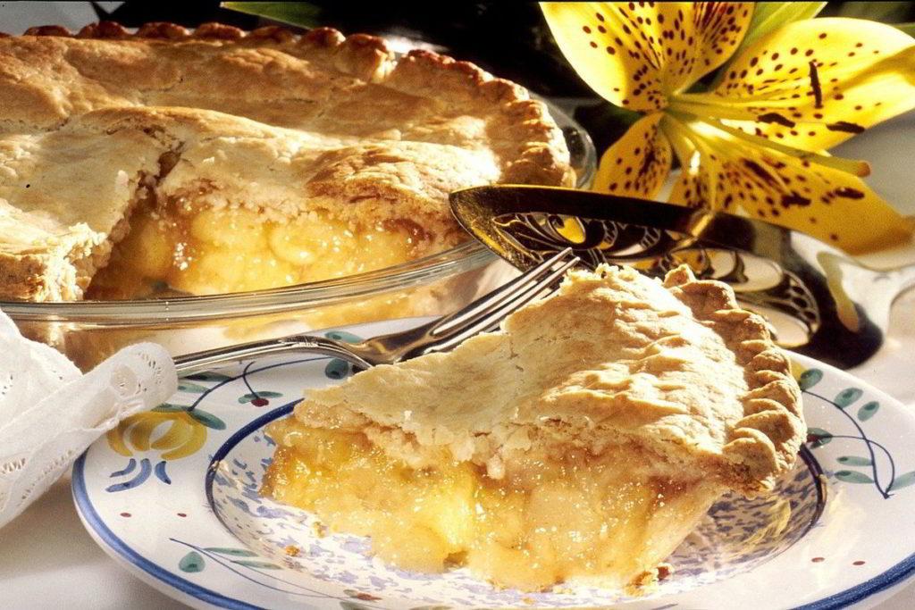 Reheating a Slice of Apple Pie