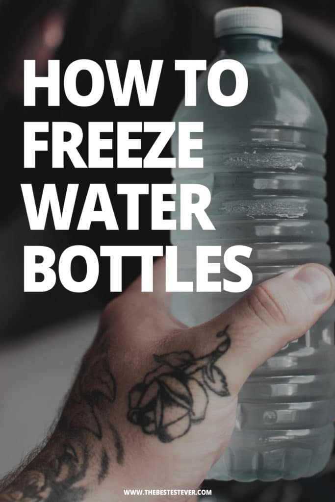 How to Freeze Water Bottles: An In-Depth Guide