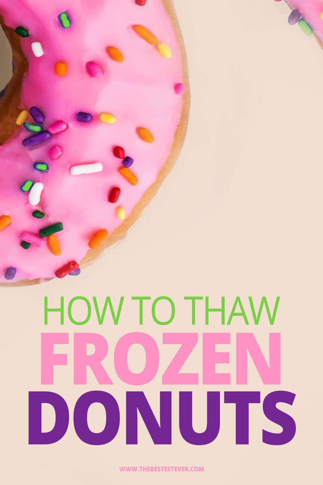 How to Thaw Frozen Donuts: 3 Best Options to Use