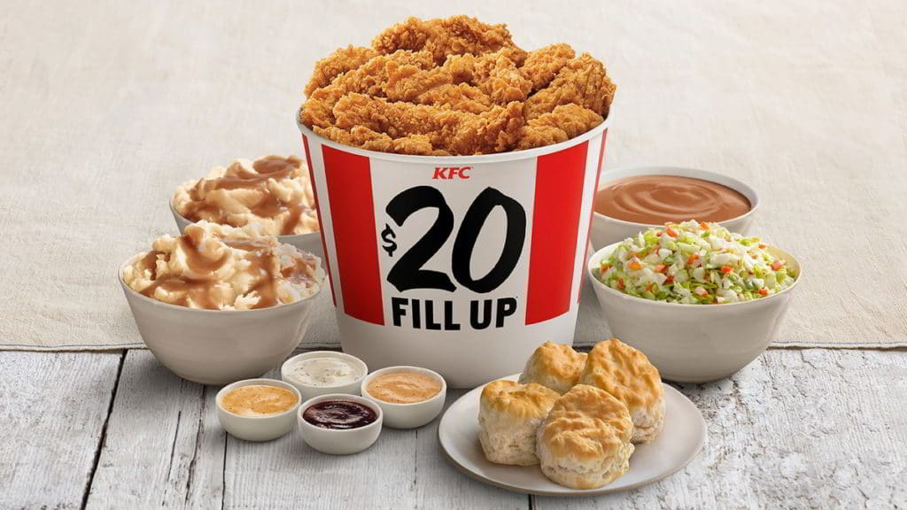 KFC $20 Fill Up Meal: Everything You Need to Know