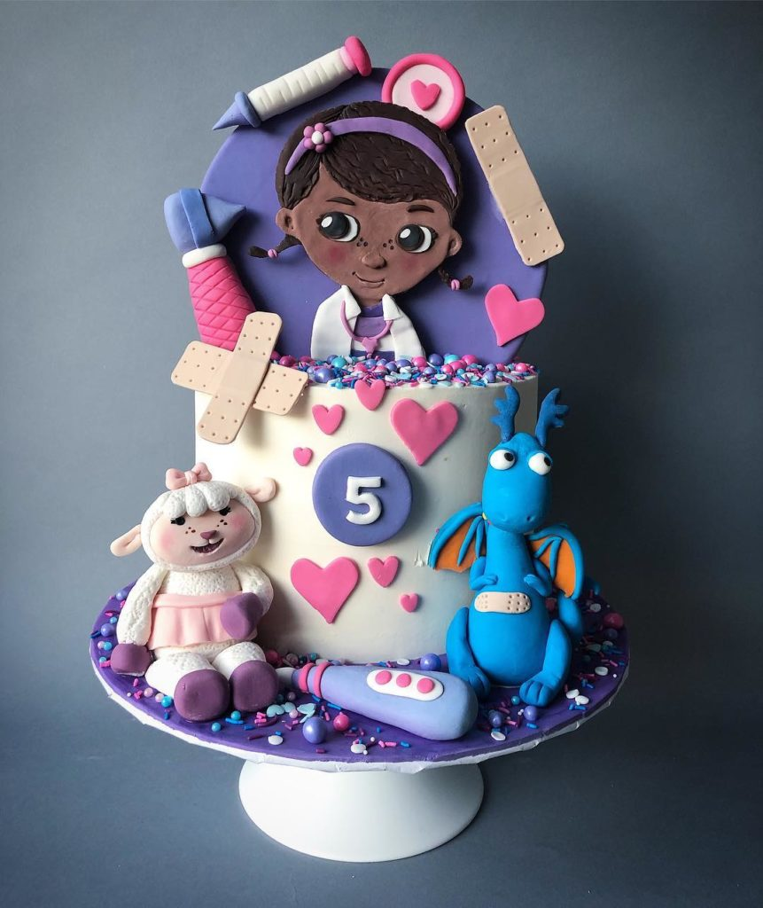 Best Doc McStuffins Cake Designs