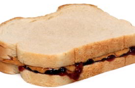 How to Freeze a Peanut Butter & Jelly Sandwich?