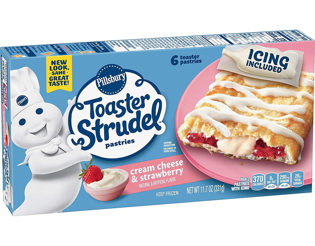 Toaster Strudel Pastry