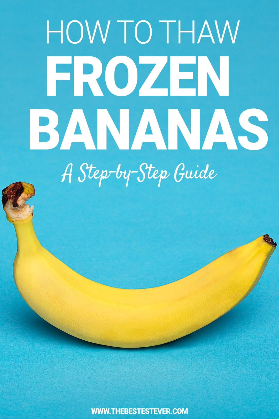 How to Thaw Frozen Bananas Quickly: Best Methods to Use