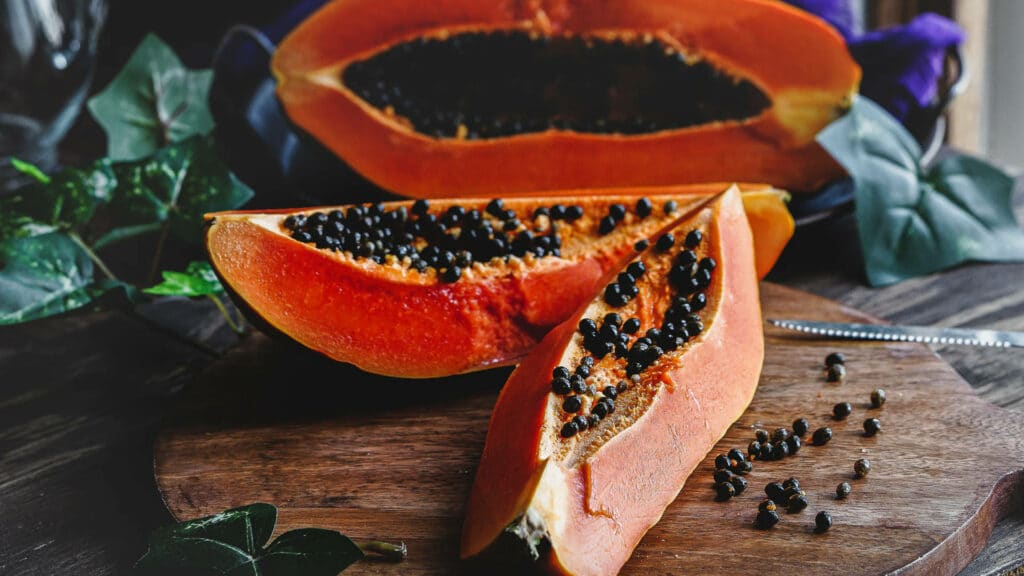 How to tell if a papaya is ripe