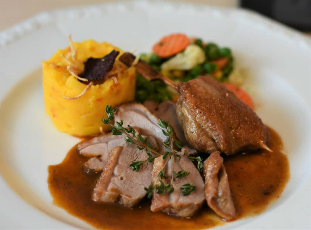 Roasted Duck in sauce