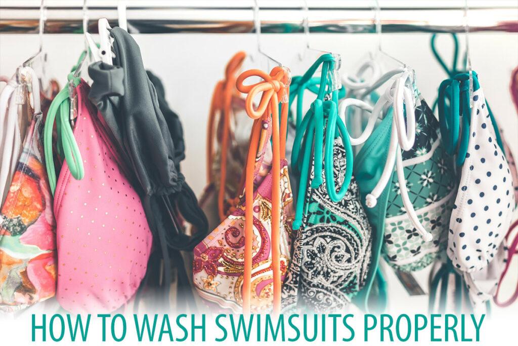 How to Wash a Swimsuit/Bikini Properly