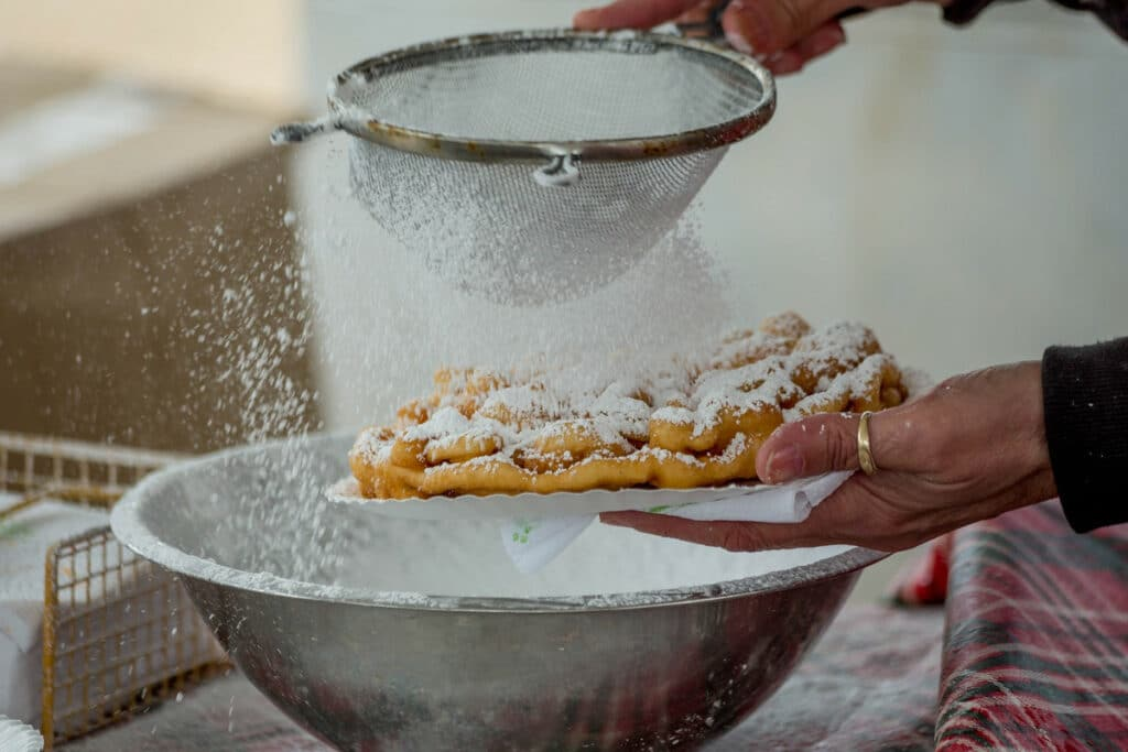 How to Reheat a funnel cake