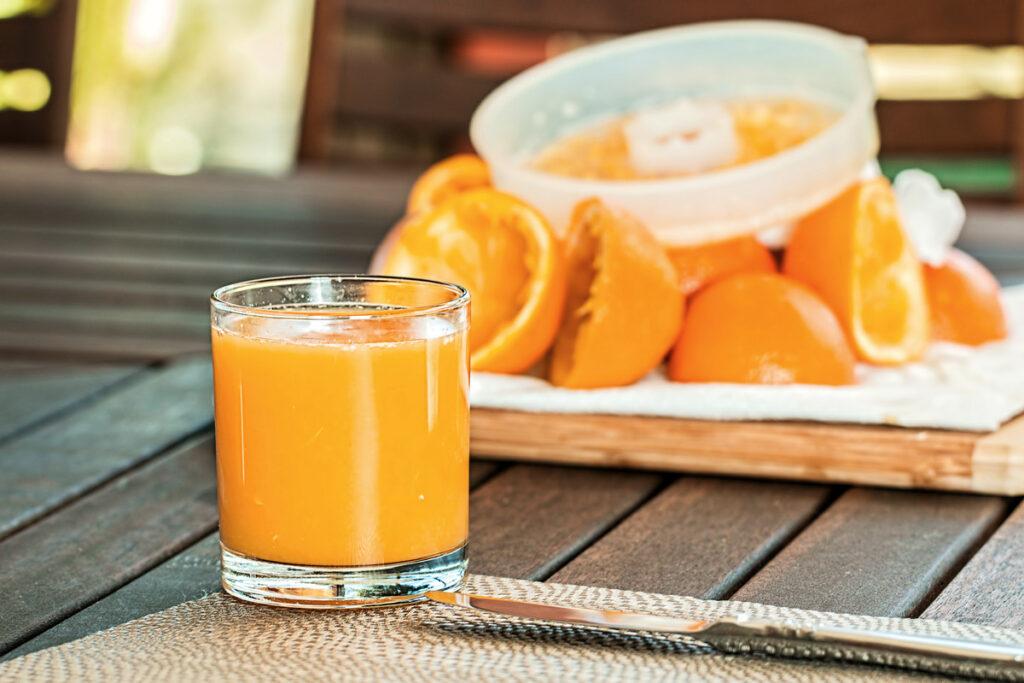 Does Orange Juice Have Caffeine in it?