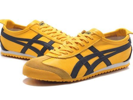 Yellow Onitsuka Tiger Mexico 66